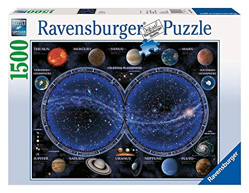Ravensburger - Planisferio Celeste, Puzzle de 1500 Piezas (16373 1)