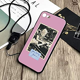 Inspired by Lady Gaga Phone Case Compatible With Iphone 7 XR 6s Plus 6 X 8 9 Cases XS Max Clear Iphones Cases TPU - Magazine- Onsie- Earrings- Nails- Nails- 32849734172