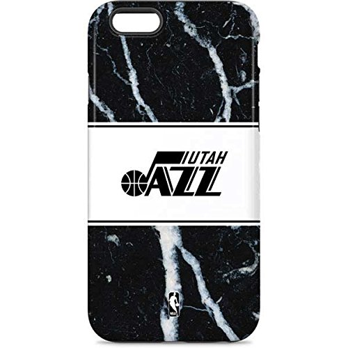 Skinit Pro Phone Case Compatible with iPhone 6 - Officially Licensed NBA Utah Jazz Marble Design