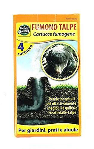 Mondo Verde Rep100x2 Lot de 2 étuis Anti-fongique pour Taupes et rongeurs Noir