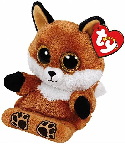 Ty Beanie Boos Peek A Boos SLY the Fox 5 5 inch Phone Holder product image