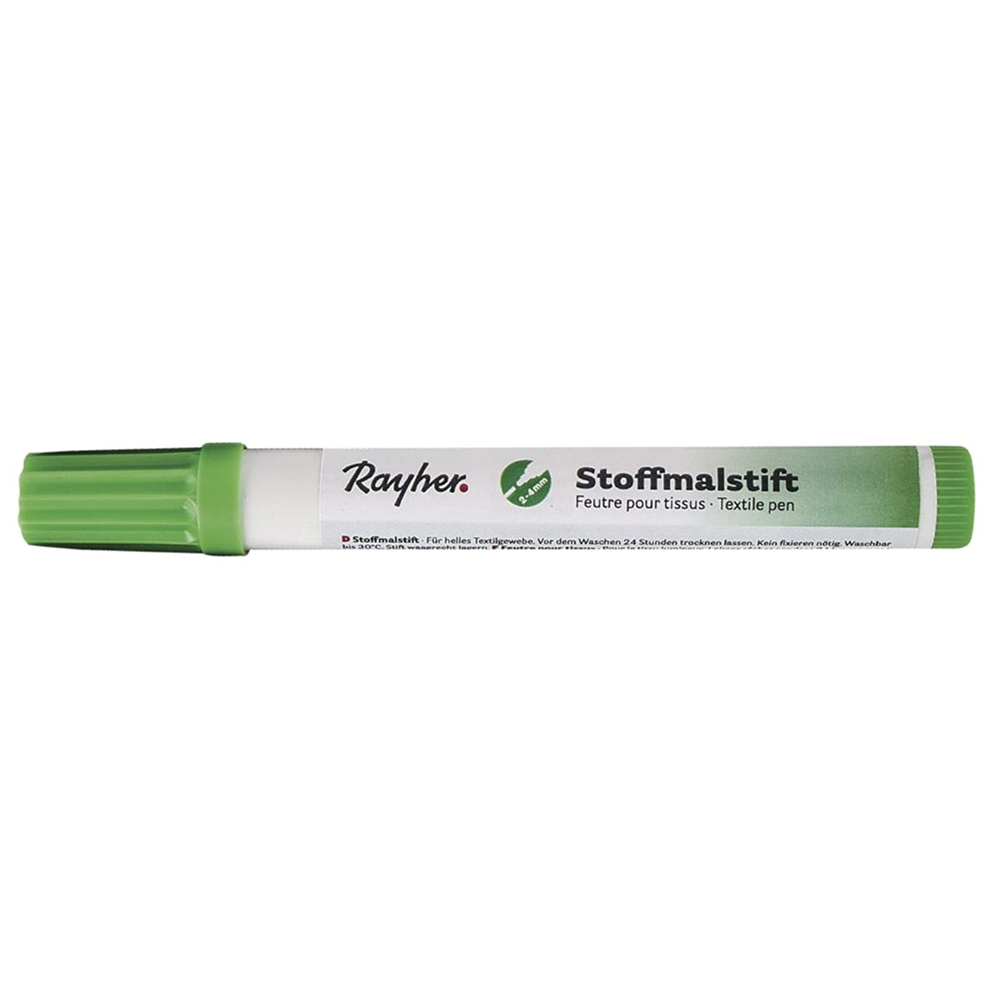 RAYHER 3825411?Fabric Crayons Thick Tip Light Green hdddpqyhhii686