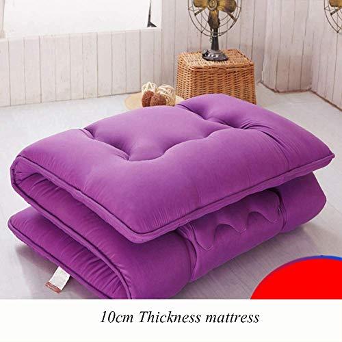 AA-mattress Chuang Verdicken Sie schlafen Matratze Bodenmatte, Faltbare Futon Matratze Pad weiche japanische Roll up Student Schlafsaal Matratze Pad-90x190cm (35x75inch)