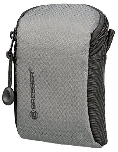 Bresser Kompaktkamera-Tasche Adventure mit Netztaschen und wasserfestem High-End Ripstop Material, klein