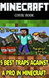 Minecraft comic book: 5 Best Traps Against a Pro in...