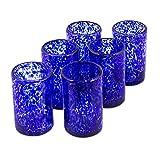NOVICA Tumbler Glass, 5' H x 3.2' Diam, Blue
