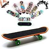 AumoToo Planche à roulettes de Doigt, Lot DE 5 Mini-Jouets à Doigt Deck Truck Finger Board Skate...