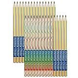 Bolonbi - 30 matite colorate arcobaleno, 4 in 1, colori assortiti, per disegno, colorazione e schizzi