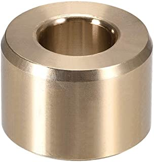 uxcell Bearing Sleeve 1/2 inches Bore x 1 inches OD x 11/16 inches Length Self-Lubricating Sintered Bronze Bushing