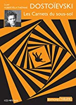 Les carnets du sous-sol (1CD audio) de Fédor Dostoïevski