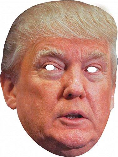 Shoperama - Maschera da festa in cartone di alta qualità, maschere divertenti di personaggi famosi