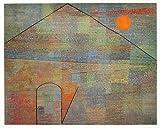 Paul Klee Ad Parnassum Poster Kunstdruck