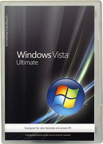 Windows Vista Ultimate 32 Bit OEM inkl. Service Pack 1 [import allemand]