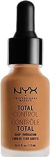 NYX Professional Makeup Total Control Drop Foundation, Camel TCDF12PT5