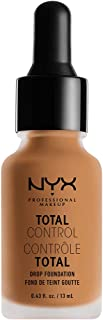 NYX PROFESSIONAL MAKEUP Total Control Drop Foundation, Camel, 0.43 Fluid Ounce
