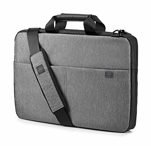 HP Signature Slim 17.3 Inch (43.9 cm) Grey TopLoad Briefcase Messenger Bag for Laptop/Chromebook/Mac