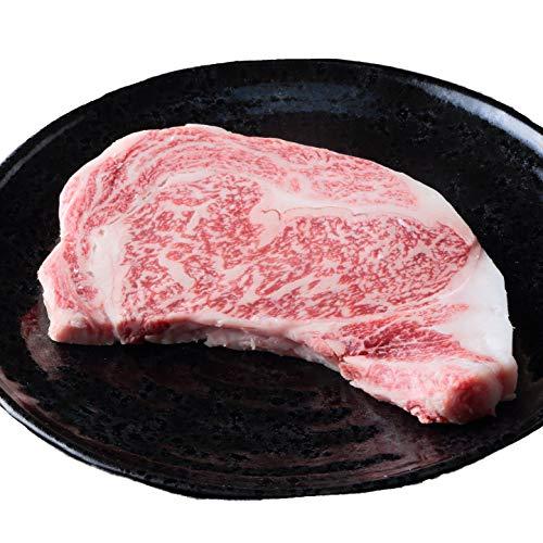 【最高級A5等級】 神戸牛リブロース 極上大判ロースステーキ 送料無料 (300g×1枚 お届け日時指定可)
