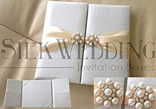 Silk Invitation Folio