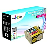 ReInkMe 4 Pack Remanufactured 126 Ink Cartridges for Epson NX430 Workforce 630