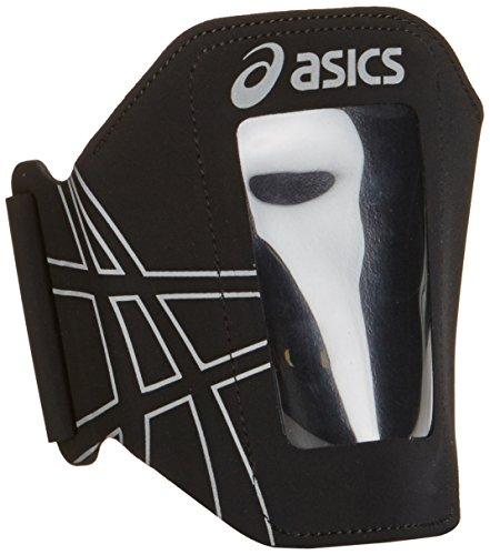 ASICS MP3 Pocket Brazalete, Unisex, Negro, Talla Única