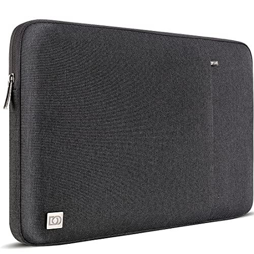 DOMISO 15,6 Pulgada Funda para portátil Bolsa de Transporte para de 15,6' Lenovo Yoga 730 IdeaPad 530S ThinkPad L580/Lenovo Flex 4 5/ASUS ROG Zephyrus GX501/Dell New Latitude 3590/HP EliteBook, Negro