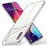 ESR Funda Samsung Galaxy A50 Essential Zero Slim de Suave TPU Transparente Carcasa, Suave y Flexible...