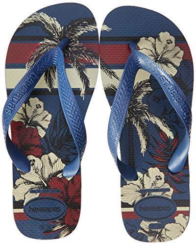 Havaianas Aloha, Chanclas para Hombre, Multicolor (Indigo Blue 0089), 41/42 EU