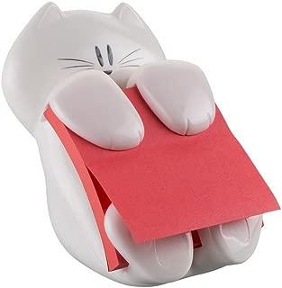Post-it CAT330 Pop-Up Note Dispenser Cat Shape, 3 x 3, White