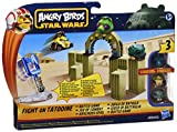 Star Wars Angry Birds - Juego de batalla, surtido: modelos aleatorios (Fight on Tatooine, Jabba's Palace, Darth Vader's Lightsaber)