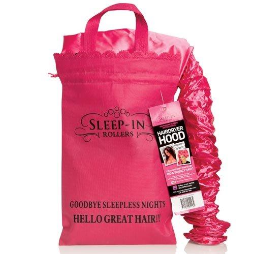 Accessories de Sleep-In Rollers Hotte de Seche-Cheveux