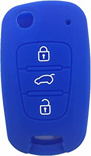 Qty (1) Brand New 3 Buttons Remote Skin Jacket Silicone Cover KEY Case Holder