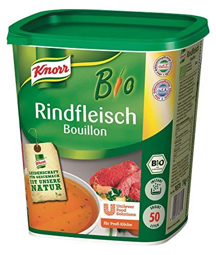 Knorr Bio Rindfleisch Bouillon (ausgeprägter Geschmack) 1er Pack (1 x 1 kg)