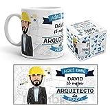 Kembilove Taza Personalizada Caricatura y Nombre – Taza de Café Mejor...