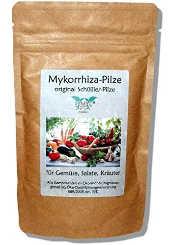 Mykorrhiza-Pilz Konzentrat für Gemüse, Salate und Kräuter - original Schüßler-Pilze, bekannt aus Funk und Fernsehen, zur Verbesserung von Pflanzenwachstum und -Gesundheit