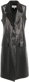 LOEWE Luxury Fashion Womens S1108930AB1100 Black Vest |