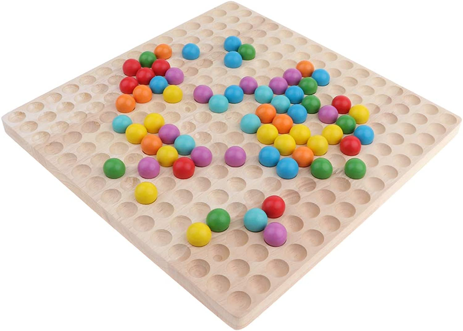 D DOLITY Beads Game Toy Birthday Gift, Developmental Toy for Kids, Hand-on Abilities Training Toy
