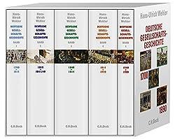 Deutsche Gesellschaftsgeschichte Band 1 - 5 Hans Ullrich Wehler