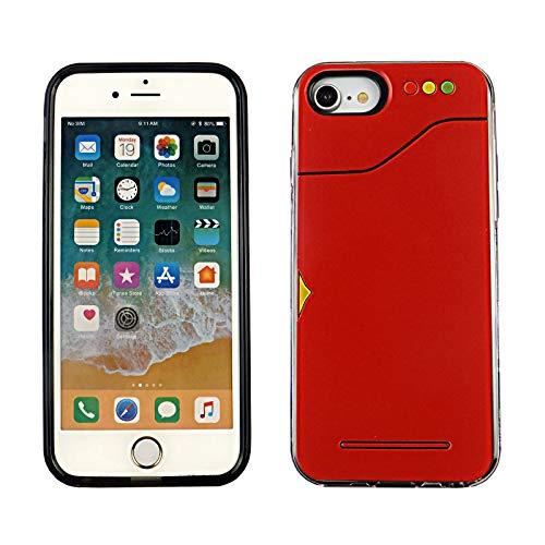 iPhone SE 2020 Dual Slim Case CASEVEREST 3D Print Cover iPhone SE Pokedex Game iPhone 6S 7 8 PC+PTU
