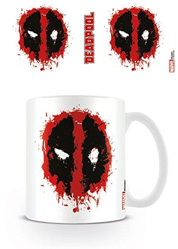 Marvel MG23821 Deadpool (Splat) Mug, Céramique, Multicolore, 11oz/315ml