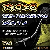 Frose Instrumental Beats Vol.3 - Campioni Hip Hop strumentali freschi|Apple Loops/ AIFF DVD non BOX|IT