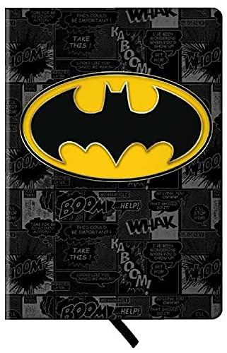 Spoontiques 19044 Journal Batman Logo, 8-inch Height