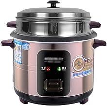 Rijstkoker (3/4/5/6L) Huishoudelijke rijstkoker met antiaanbaklaag, koken met één toets en automatische warmtebehoud, voor...