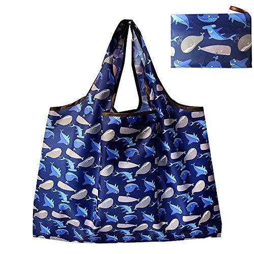 エコバッグ 折りたたみ 買い物バッグ マイバッグ 防水素材 コンパクト 大容量 持ち運び便利 収納便利 コンビニ スーパー リサイクル可能