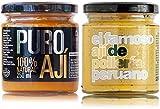 Ají amarillo y ají de pollería   Pack Ají Amarillo   100% naturales   Sin aditivos ni conservantes   Sin gluten   Apto para veganos