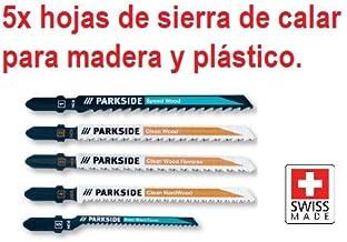 Universal para Parkside recargable p/éndulo Jigsaw PSTDA X20V y otros Metal Madera y pl/ástico Juego de cuchilla de sierra PSTZ 3