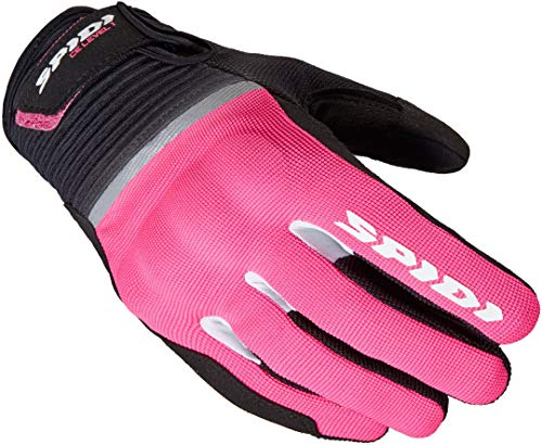 Spidi Flash Damen Motorradhandschuhe Schwarz/Pink M