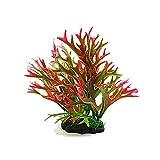 Gertok Plantas Acuario Naturales Plantas Naturales para Acuarios Acuario Agua Plantas Ornamentos de pecera medianos Decoración del Acuario Red