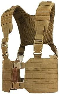CONDOR MCR7 MOLLE Tactical Ronin Chest Rig Split Vest - Brown MCR7-498