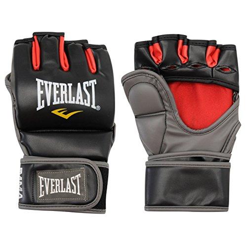 Everlast Unisex Grappling Training Handschuhe Schwarz/rot S/M