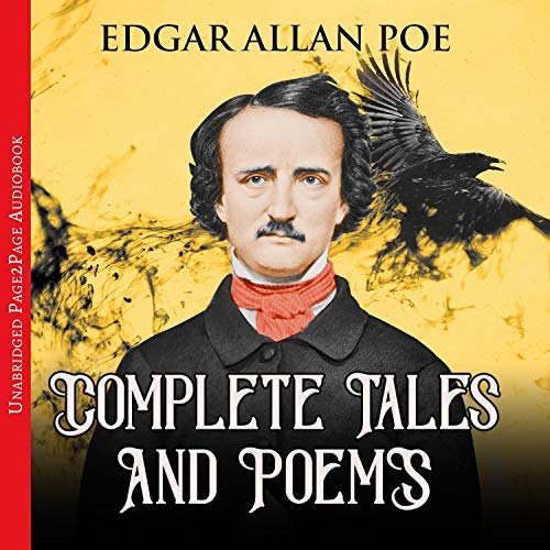 『Edgar Allan Poe - Complete Tales and Poems』のカバーアート